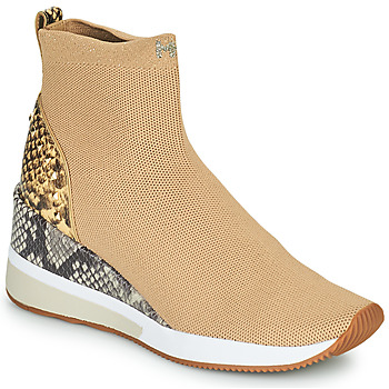 Chaussures Femme Baskets montantes MICHAEL Michael Kors SKYLER Camel