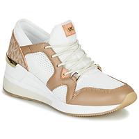 Chaussures Femme Baskets basses MICHAEL Michael Kors LIV Camel / Blanc
