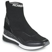 Chaussures Femme Baskets montantes MICHAEL Michael Kors SWIFT Noir