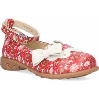 Chaussures Fille Ballerines / babies Laura Vita Julani 08 rouge