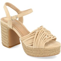 Chaussures Femme Sandales et Nu-pieds H&d YZ19-299 Beige
