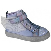 Chaussures Fille Baskets montantes Skechers Shuffle Lite Lil Sparkle Wings violet