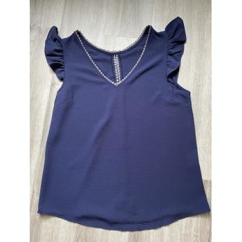 Vêtements Femme Tops / Blouses It Hippie Top Bleu Taille S Bleu