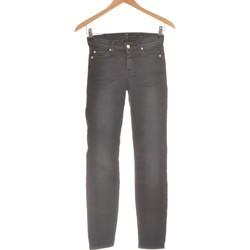 Vêtements Femme Jeans slim 7 for all Mankind Jean Slim Femme  34 - T0 - Xs Noir