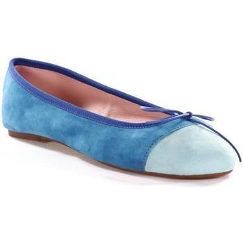 Chaussures Femme Ballerines / babies Champ De Fleurs SANDRA611 Bleu