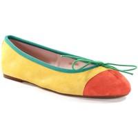 Chaussures Femme Ballerines / babies Champ De Fleurs SANDRA611 Jaune