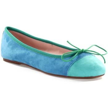 Chaussures Femme Ballerines / babies Champ De Fleurs SANDRA611 Turquoise