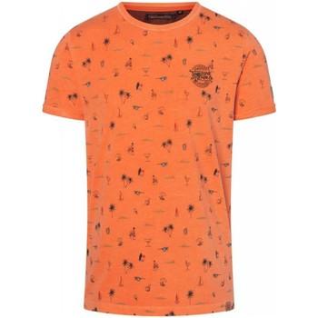 Vêtements Homme T-shirts manches courtes Timezone T-shirt  ref 52347 rouge Rouge