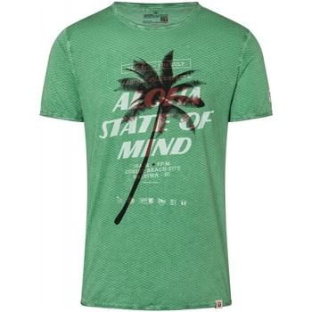 Vêtements Homme T-shirts manches courtes Timezone T-shirt  ref 52348 vert Vert