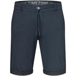 Vêtements Homme Shorts / Bermudas Timezone Short slim Janno  ref 52355 marine Bleu