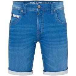 Vêtements Homme Shorts / Bermudas Timezone Short slim Scotty  ref 52357 bleu Bleu