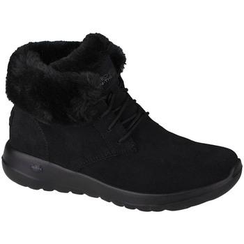 Chaussures Femme Bottes de neige Skechers On-The-Go Joy Lush Noir