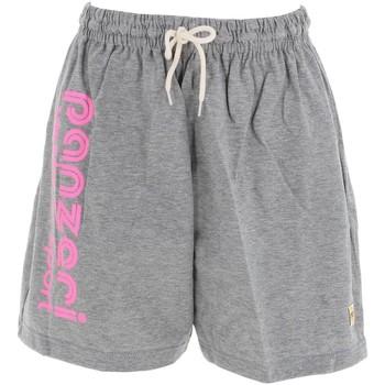 Vêtements Homme Shorts / Bermudas Panzeri Uni a grc rose short Gris chiné