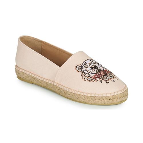 Chaussures Femme Espadrilles Kenzo ESPADRILLES CLASSIC TIGER Rose Nude
