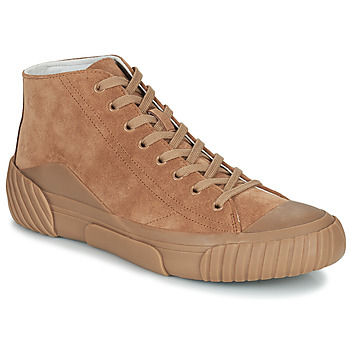 Chaussures Homme Baskets montantes Kenzo TIGER CREST HIGH TOP SNEAKERS Camel