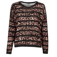 Vêtements Femme Pulls Liu Jo WF1538 Leopard