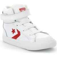 Chaussures Garçon Baskets montantes Converse Pro Blaze Strap BLANC