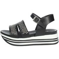 Chaussures Femme Sandales et Nu-pieds Keys K-5043 Noir