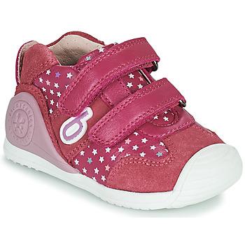 Chaussures Fille Baskets basses Biomecanics BIOGATEO SPORT Rose