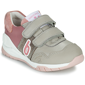 Chaussures Fille Baskets basses Biomecanics BIOEVOLUTION SPORT Gris / Rose