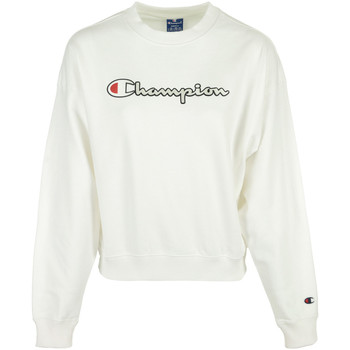 Vêtements Femme Sweats Champion Crewneck Sweatshirt blanc