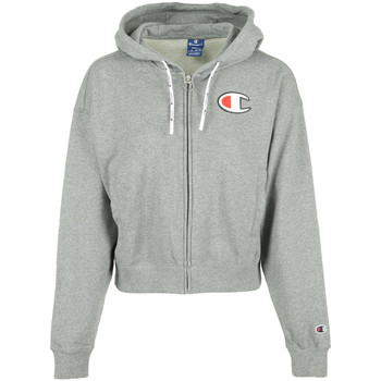 Vêtements Femme Sweats Champion Hooded Full Zip Wn's gris