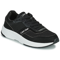 Chaussures Homme Baskets basses Calvin Klein Jeans LOW TOP LACE UP MIX Noir