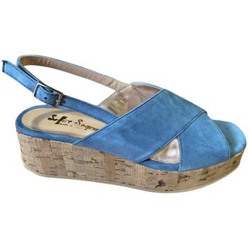 Chaussures Femme Sandales et Nu-pieds Soffice Sogno SOSOE21791sky blu