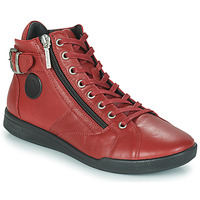 Chaussures Femme Baskets montantes Pataugas PALME Sangria