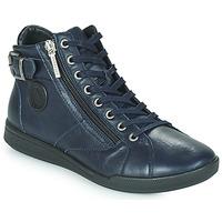Chaussures Femme Baskets montantes Pataugas PALME Marine
