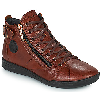 Chaussures Femme Baskets montantes Pataugas PALME Chataigne