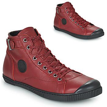 Chaussures Femme Baskets montantes Pataugas LATSA Sangria