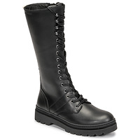 Chaussures Femme Bottes ville Pataugas MARY Noir