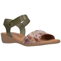 Chaussures Femme Sandales et Nu-pieds Valeria's 7151 Mujer Kaki vert