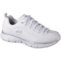 Chaussures Femme Baskets basses Skechers Synergy 30 Blanc