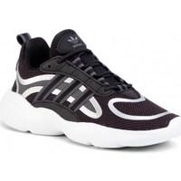 Chaussures Enfant Baskets basses adidas Originals Haiwee C Blanc, Noir