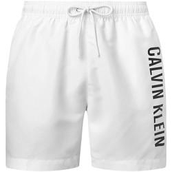Vêtements Homme Maillots / Shorts de bain Calvin Klein Jeans Short de bain  ref 52725 YCD Blanc Blanc