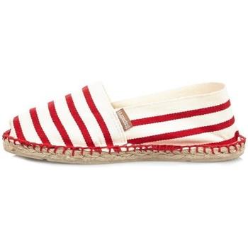 Chaussures Femme Espadrilles Espadrij Espadrilles  femmes ref_esp43766 Ecru Rouge