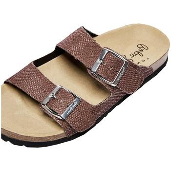 Chaussures Femme Sandales et Nu-pieds Pepe jeans Sandales plates à brides  Oban Mesh Ref Marron