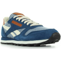 Chaussures Homme Baskets basses Reebok Sport Cl leather ch bleu