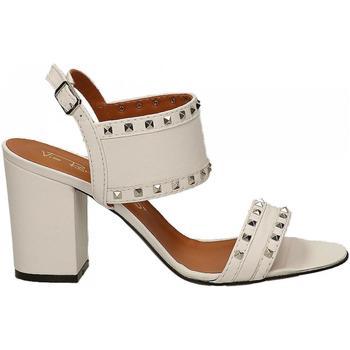 Chaussures Femme Sandales et Nu-pieds Via Roma 15 SAND.BORCHIATISSIMO bianco
