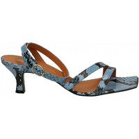 Chaussures Femme Sandales et Nu-pieds Via Roma 15 TACCO ROCCHETTO cielo