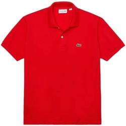 Vêtements Homme Polos manches courtes Lacoste Polo  ref 52087 F8m Groseiller Rouge