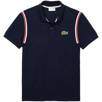 Vêtements Homme Polos manches courtes Lacoste Polo  ref 52866 Marine Bleu