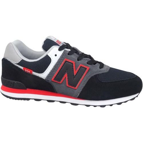 New Balance 574 Noir, Gris - Chaussures Baskets basses Enfant 96,00 €