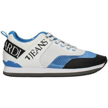 Chaussures Homme Baskets basses Trussardi 77A00223PE21 faible Homme GRIS / BLEU / NOIR GRIS / BLEU / NOIR