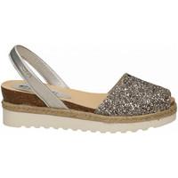 Chaussures Femme Sandales et Nu-pieds Ria GLITTER argento