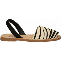 Chaussures Femme Sandales et Nu-pieds Ria ZEBRINO NAPPA zebra