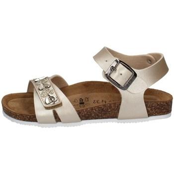 Chaussures Fille Sandales et Nu-pieds Biochic 55051 PLATINE
