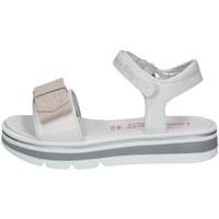 Chaussures Fille Sandales et Nu-pieds Laura Biagiotti 7180 BLANC